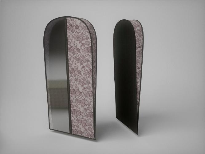 {} CoFreT Чехол для одежды Ажур (10х60х100 см) чехлы для одежды cofret чехол для шубы для хранения ажур 229