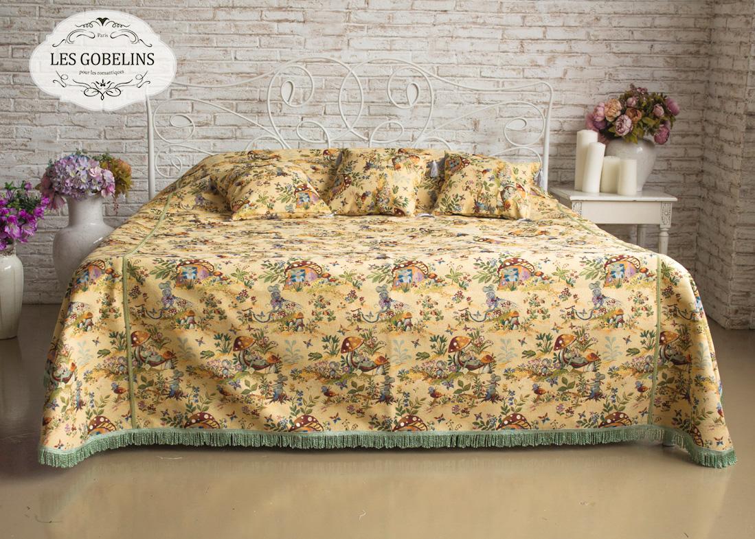 Детские покрывала, подушки, одеяла Les Gobelins Детское Покрывало на кровать Souris Drole (190х220 см)