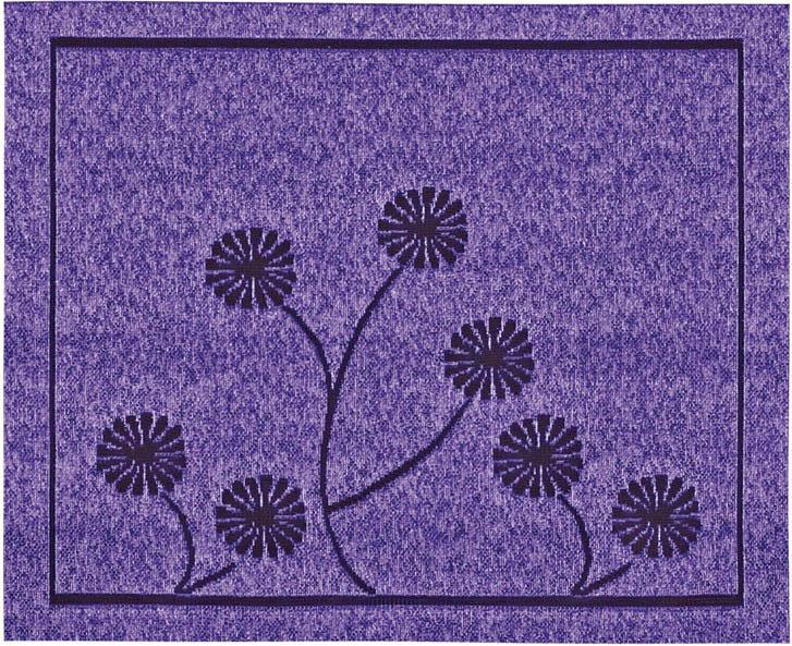 Скатерти и салфетки Haft Салфетки Dominica Цвет: Фиолетовый (30х40 см) бинт peha haft самофиксирующийся красный 10смх4м