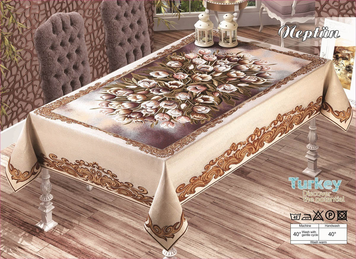 Скатерти и салфетки Verolli Скатерть Neptun (160х300 см) цены онлайн