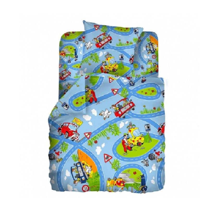 Детское Постельное белье Кошки-Мышки Постельное белье Светофор (112х147 см)