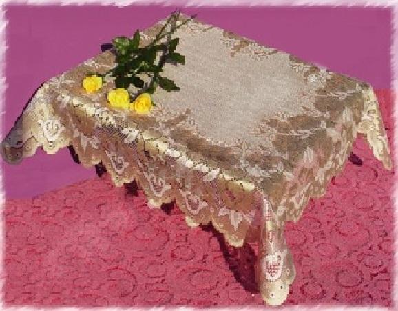 Скатерти и салфетки Wisan Салфетки Эразм Цвет: Золото (80х80 см) wisan