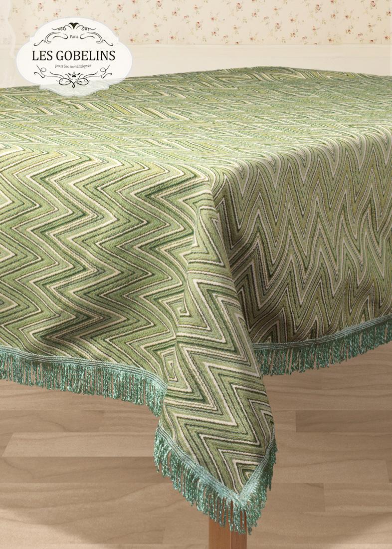 Скатерти и салфетки Les Gobelins Скатерть Zigzag (140х180 см) скатерти и салфетки santalino скатерть lysander 140х180 см