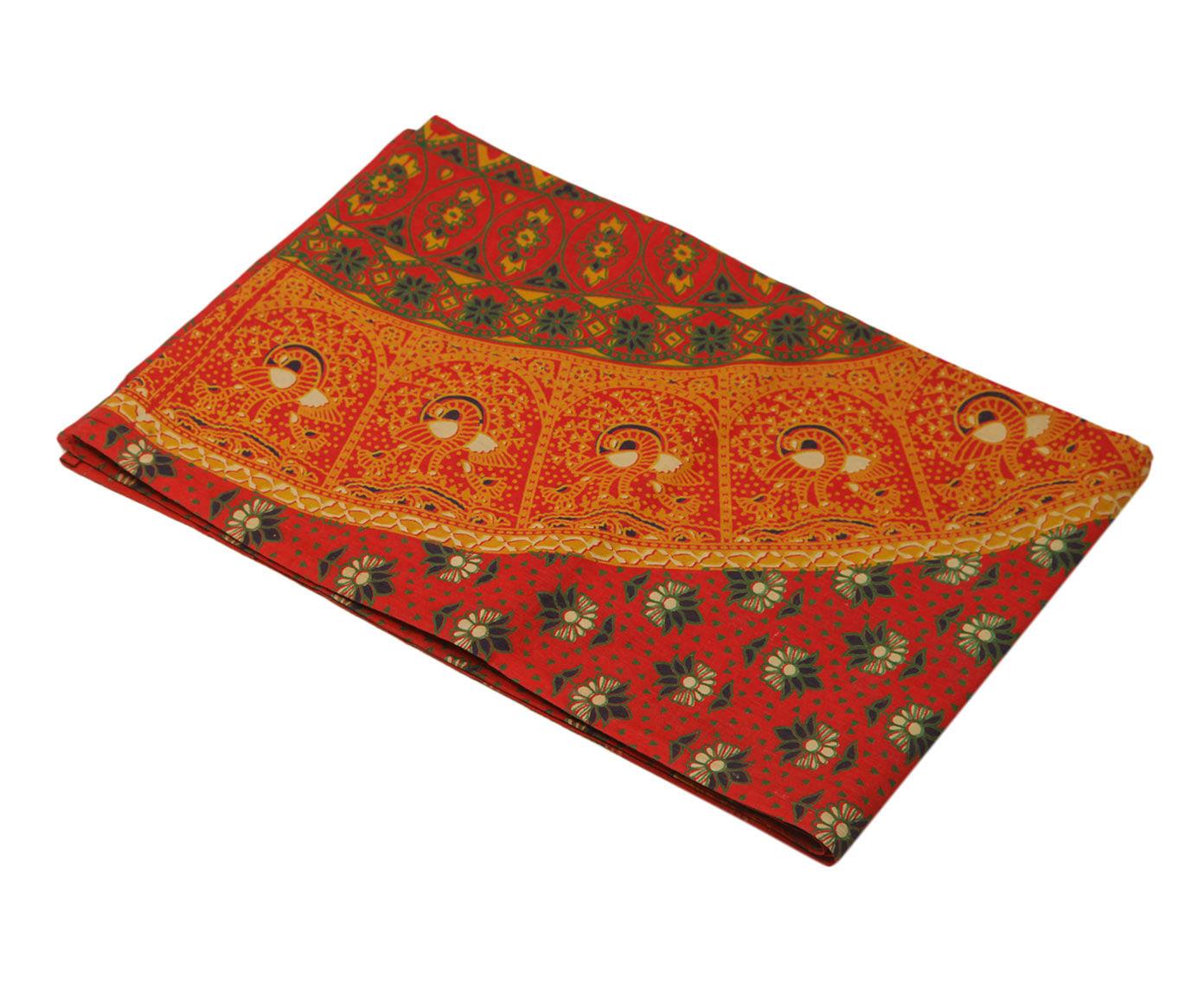 Покрывало Ethnic Chic Покрывало Мандала Цвет: Фуксия (140х225 см)