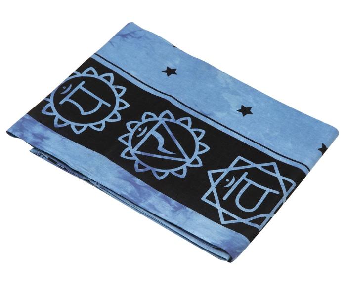 Покрывало Ethnic Chic Покрывало Будда Цвет: Синий (140х225 см)
