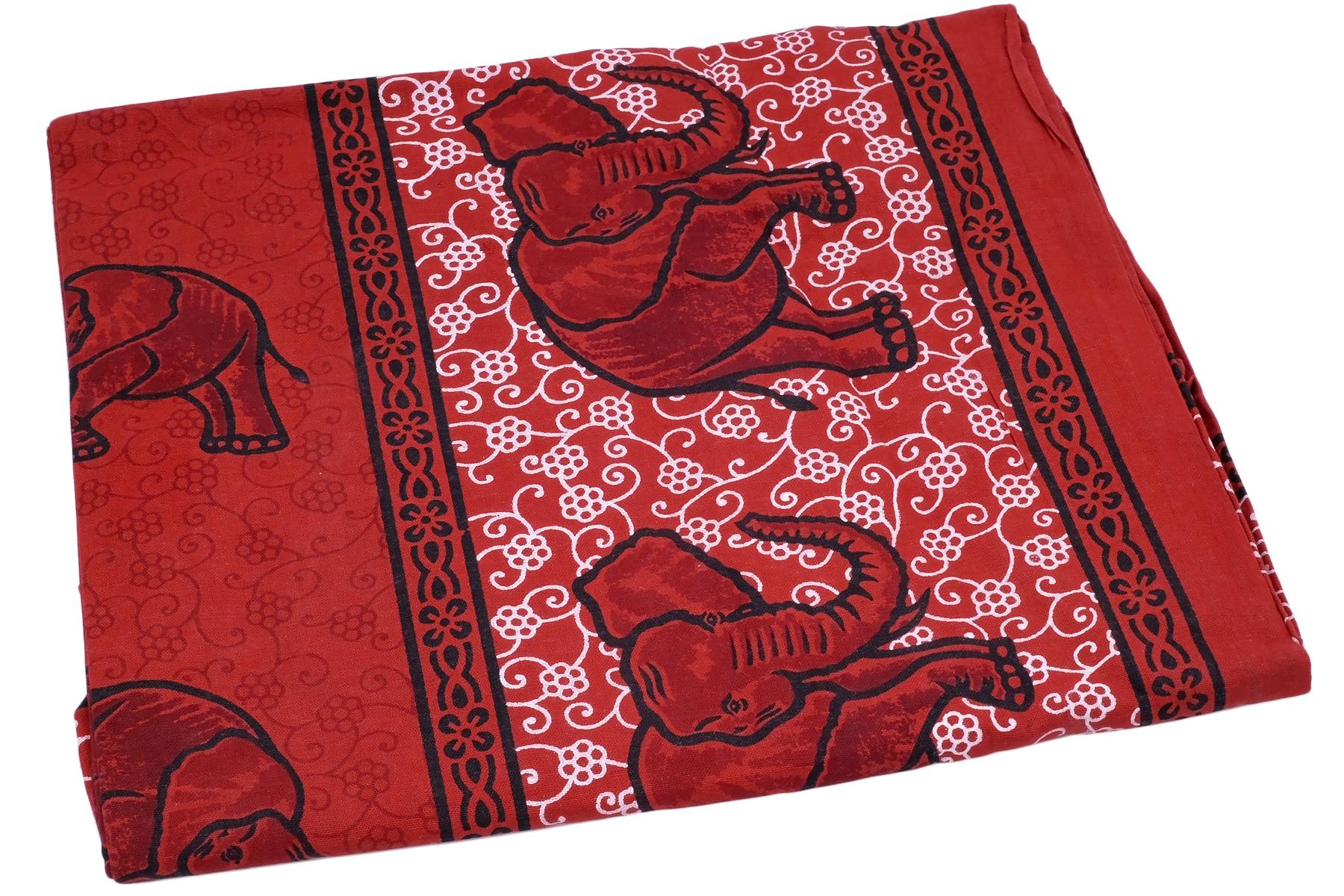 Покрывало Ethnic Chic Покрывало Слон Цвет: Красный (140х225 см)