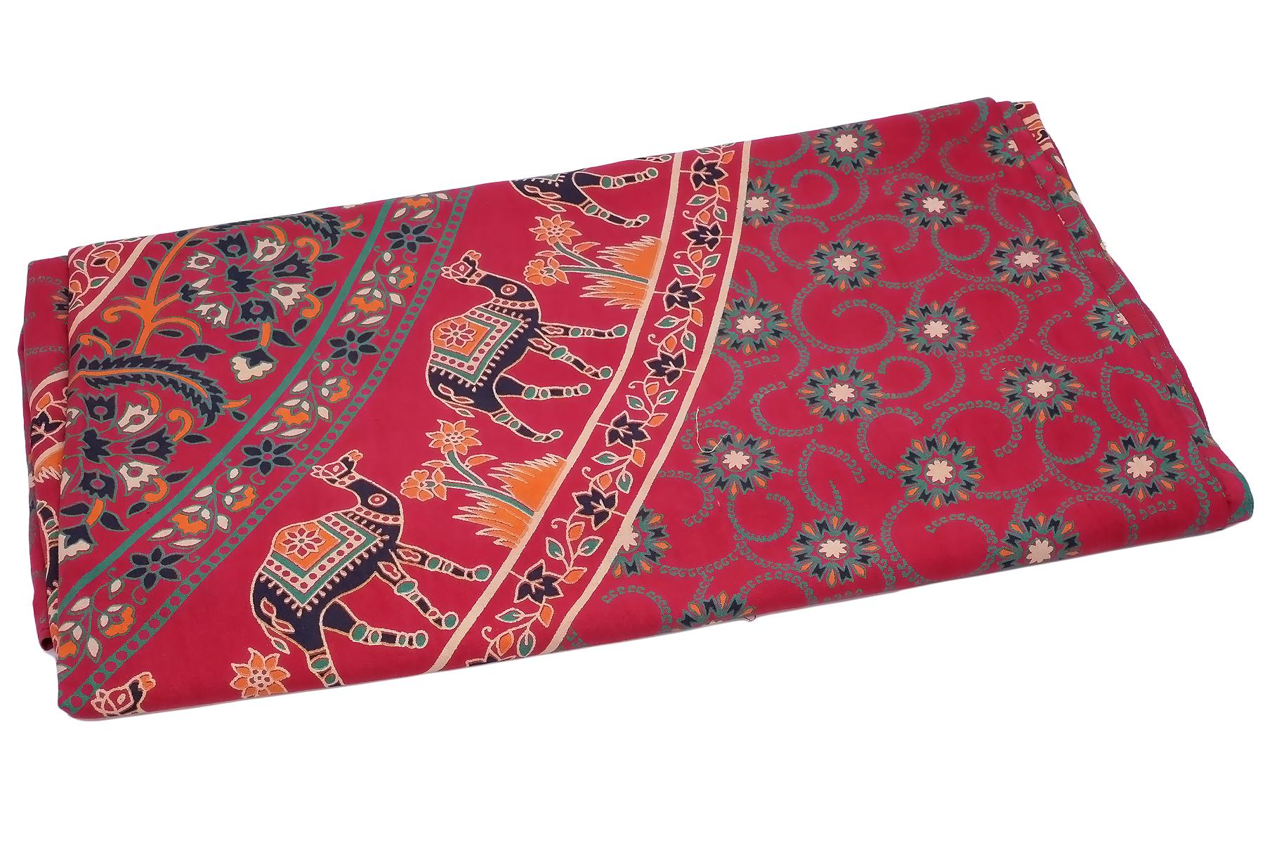 Покрывало Ethnic Chic Покрывало Слон Цвет: Красный (225х250 см)