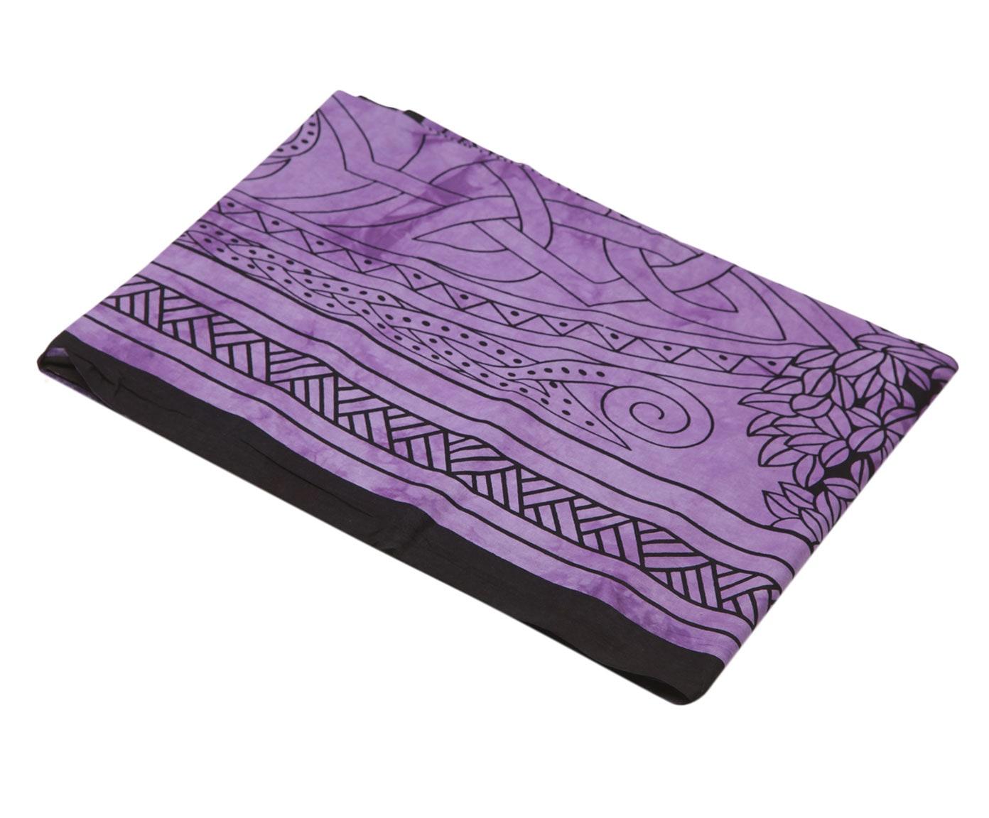Покрывало Ethnic Chic Покрывало Astrid Цвет: Черно-Фиолетовый (140х225 см)