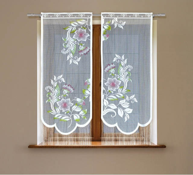 Шторы Haft Японские шторы Danni Цвет: Белый