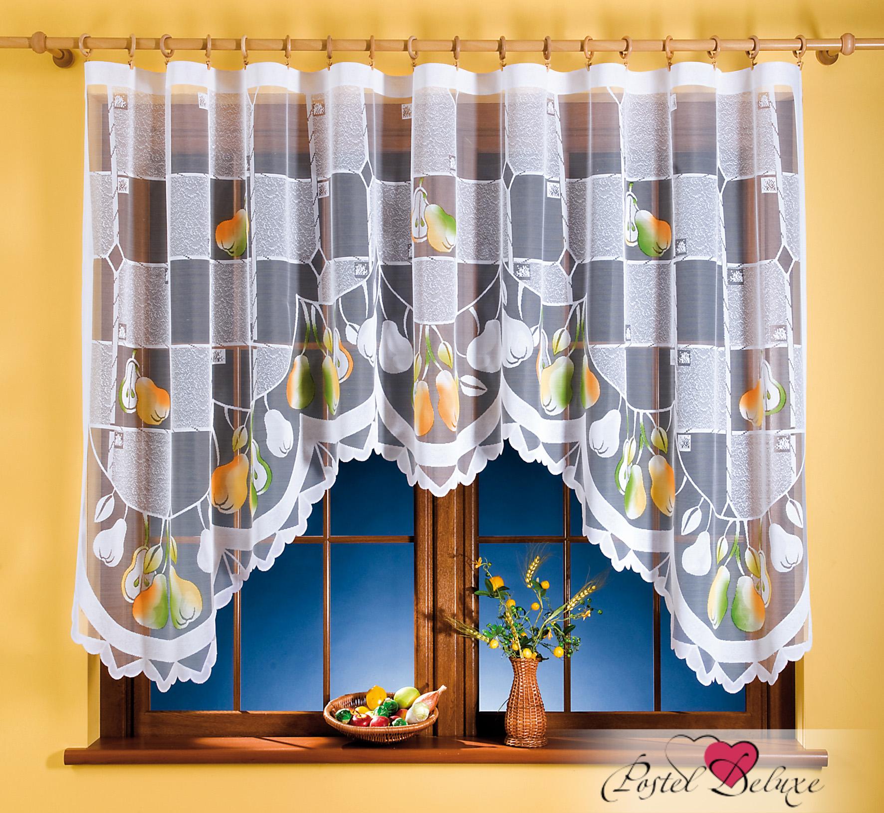 Шторы Wisan Классические шторы Gruszki комплект штор для кухни wisan celina на ленте цвет белый оранжевый высота 180 см