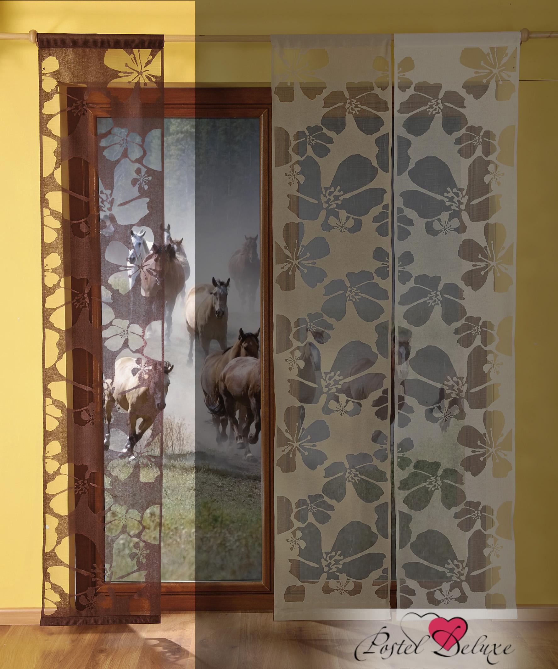 Шторы Wisan Японские шторы Kwiaty Цвет: Коричневый wisan wisan японские шторы concord