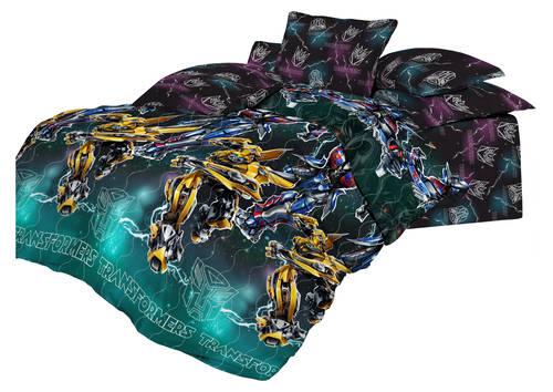 Детские покрывала, подушки, одеяла Непоседа Детское покрывало Оптимус (145х200 см)