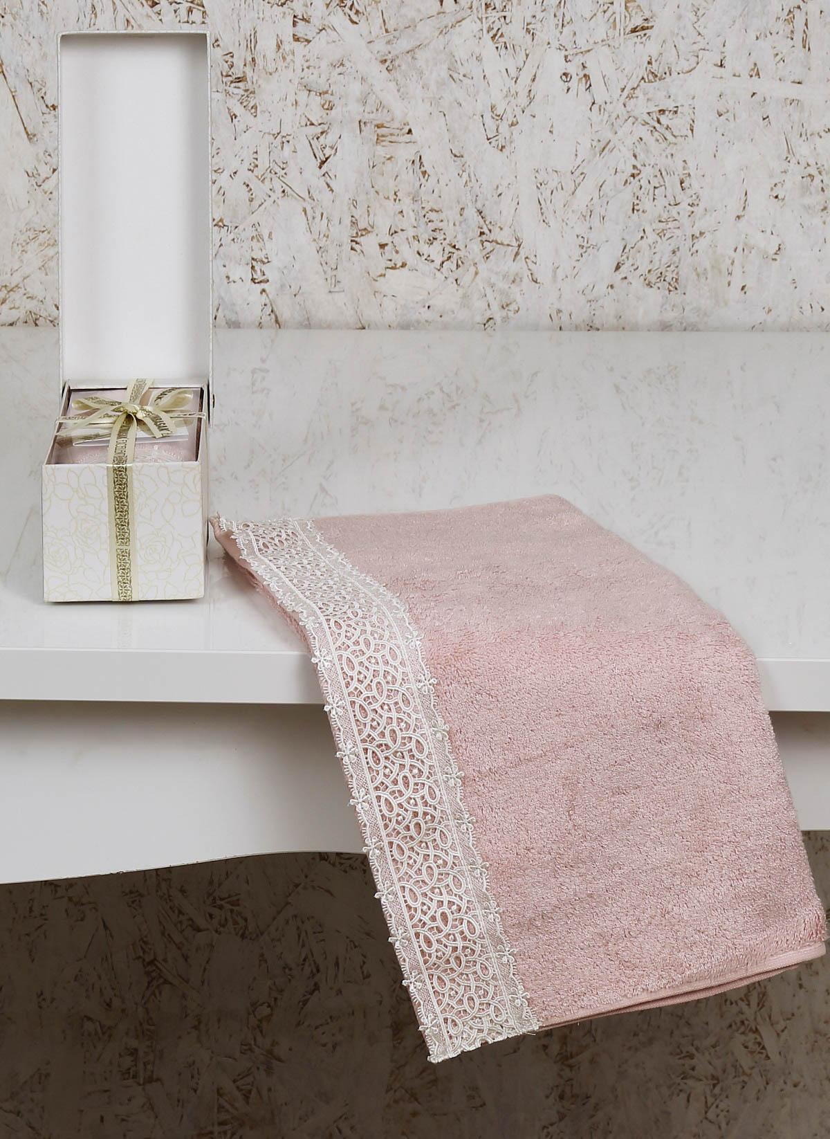 где купить Полотенца Altinbasak Полотенце Sveta Цвет: Розовый (50х90 см) по лучшей цене