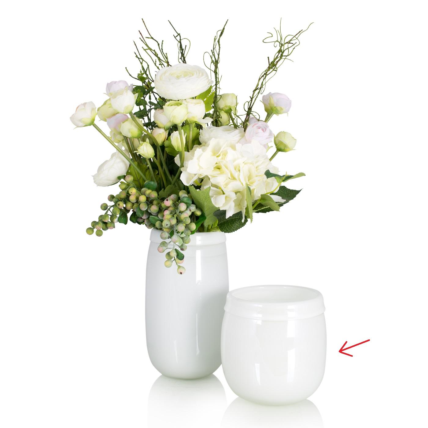 {} Home Philosophy Ваза Calanta Цвет: Белый (15х15х16 см) ваза кручёная цвет белый 51 см 1025307