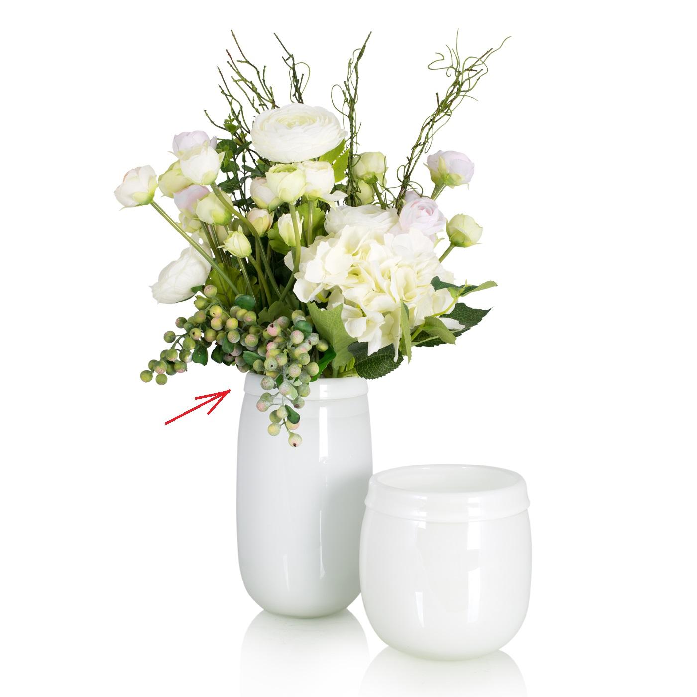 {} Home Philosophy Ваза Calanta Цвет: Белый (13х13х25 см) ваза кручёная цвет белый 51 см 1025307