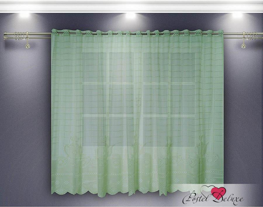 Шторы Zlata Korunka Классические шторы Linden Цвет: Салатовый шторы tac классические шторы winx цвет персиковый 200x265 см