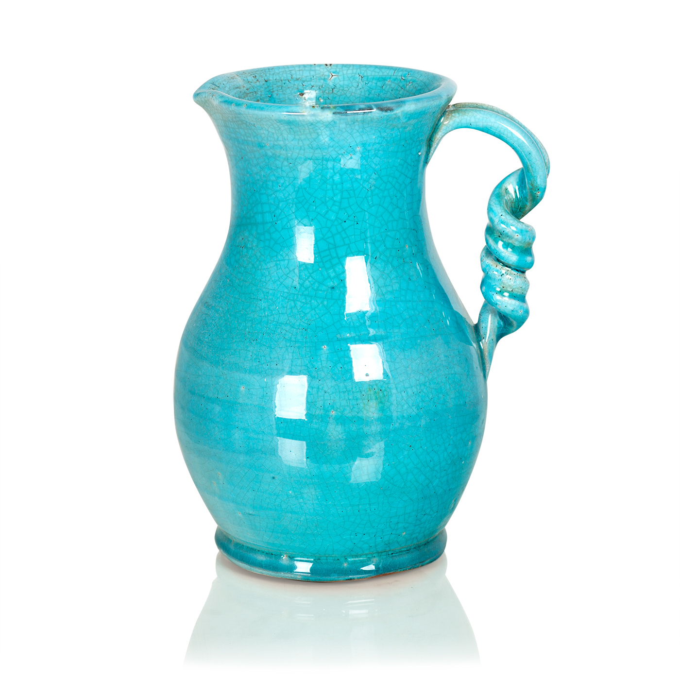 {} Home Philosophy Ваза-кувшин Chesnee Цвет: Голубой (21х28 см) home philosophy ваза mariana цвет молочный набор