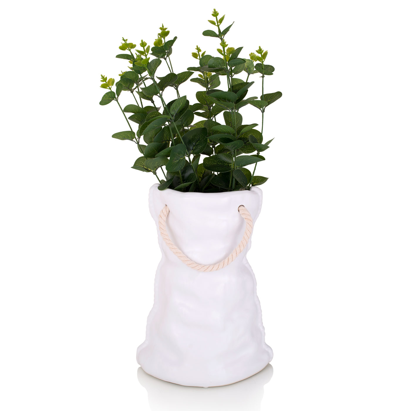 {} Home Philosophy Ваза Christine Цвет: Белый (12х20х28 см) ваза mughal l 20 х 20 х 30 см