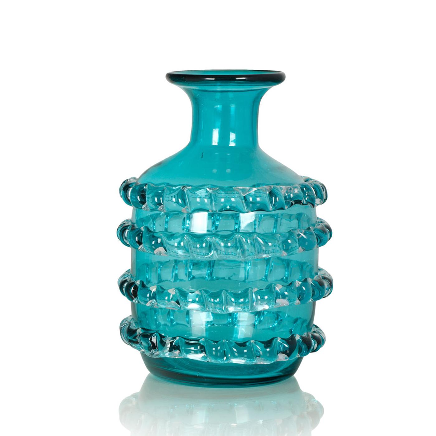 {} Home Philosophy Ваза Lambie Цвет: Бирюзовый (18х26 см) ваза кружева цветов 26 см