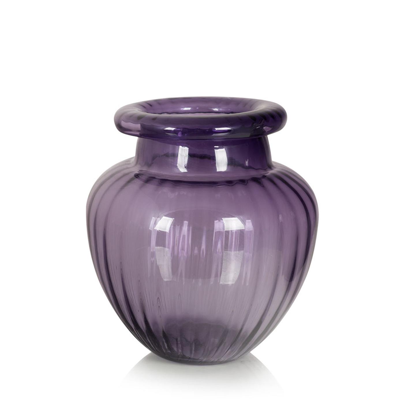 {} Home Philosophy Ваза Brittany Цвет: Лиловый (20х26 см) ваза кружева цветов 26 см
