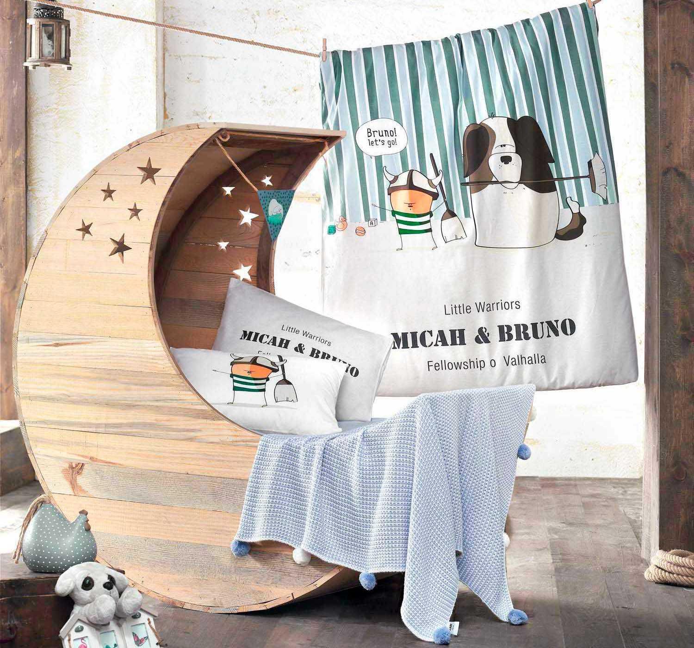 где купить Детское Постельное белье Clasy Детское Постельное белье Bruno (100х150) по лучшей цене