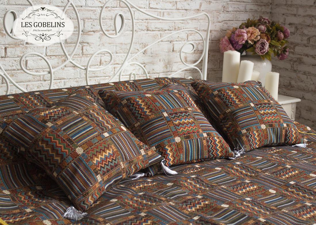 Покрывало Les Gobelins Покрывало на кровать Mexique (220х220 см) желтое покрывало на кровать