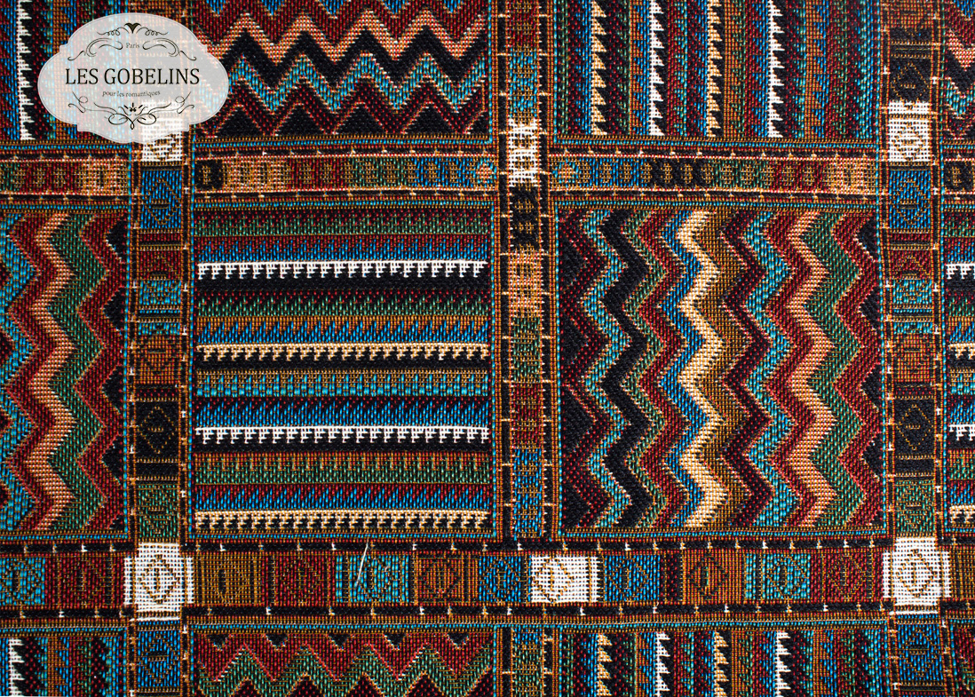 где купить Покрывало Les Gobelins Накидка на диван Mexique (140х160 см) по лучшей цене