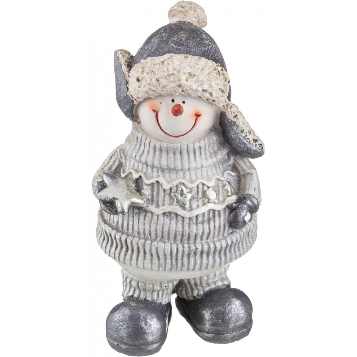 {} Arti-M Интерьерная игрушка Снеговик (6х7х13 см) статуэтка снеговик 13 см