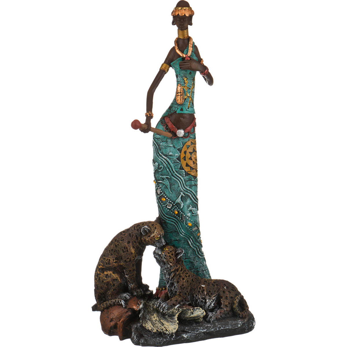 {} Lefard Фигурка Африканка (13х26х50 см) lefard фигурка африканка 9х14х49 см