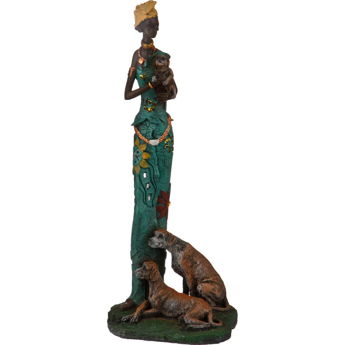 {} Lefard Фигурка Африканка (12х18х37 см) lefard фигурка африканка 9х14х49 см