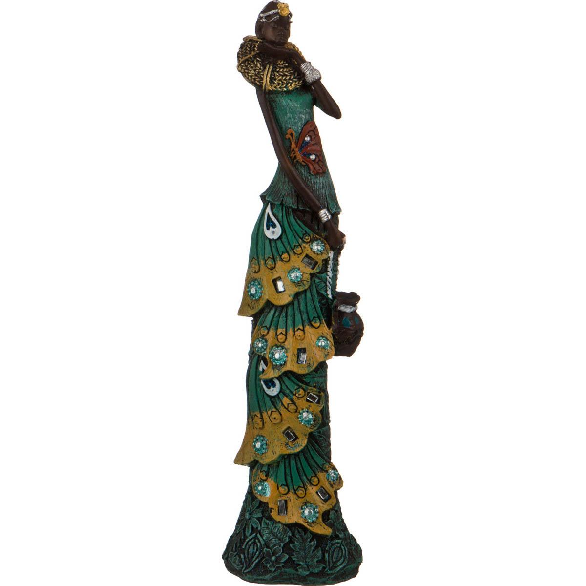 {} Lefard Фигурка Африканка (6х7х28 см) lefard фигурка африканка 9х14х49 см