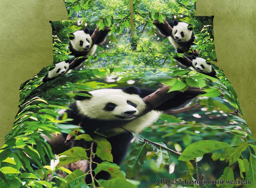 Постельное белье Diva Afrodita Постельное белье Бамбуковый Медведь (2 спал.) постельное белье diva afrodita постельное белье бамбуковый медведь 2 спал