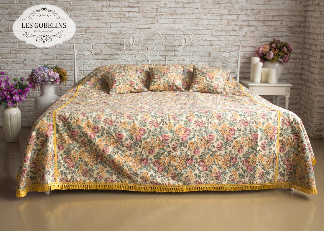 где купить Покрывало Les Gobelins Покрывало на кровать Arrangement De Fleurs (210х230 см) по лучшей цене