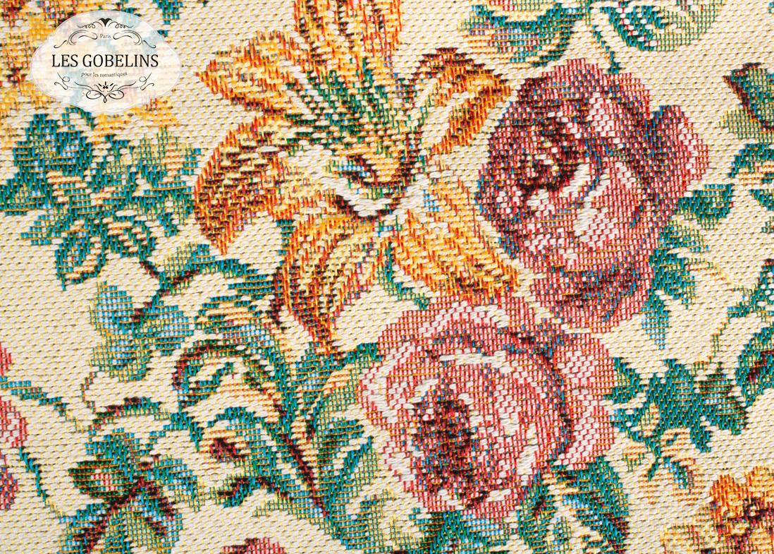 где купить Покрывало Les Gobelins Накидка на диван Arrangement De Fleurs (130х220 см) по лучшей цене
