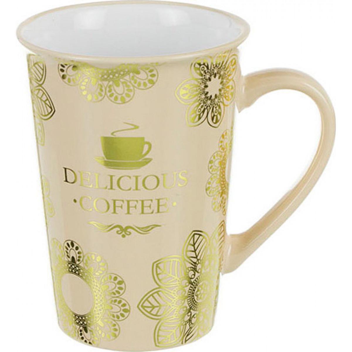 {} Lefard Кружка Delicious Coffee (400 мл) полироль для приборной панели atas plak amarena 400 мл