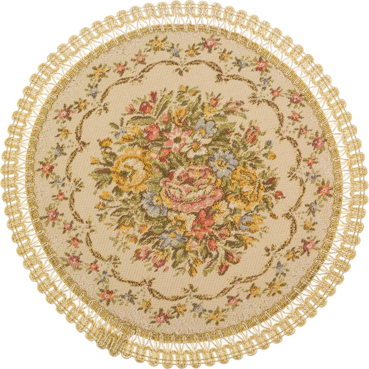 Скатерти и салфетки Lefard Салфетка Açelya  (круглая 24 см) салфетка декоративная lefard 48 32 см