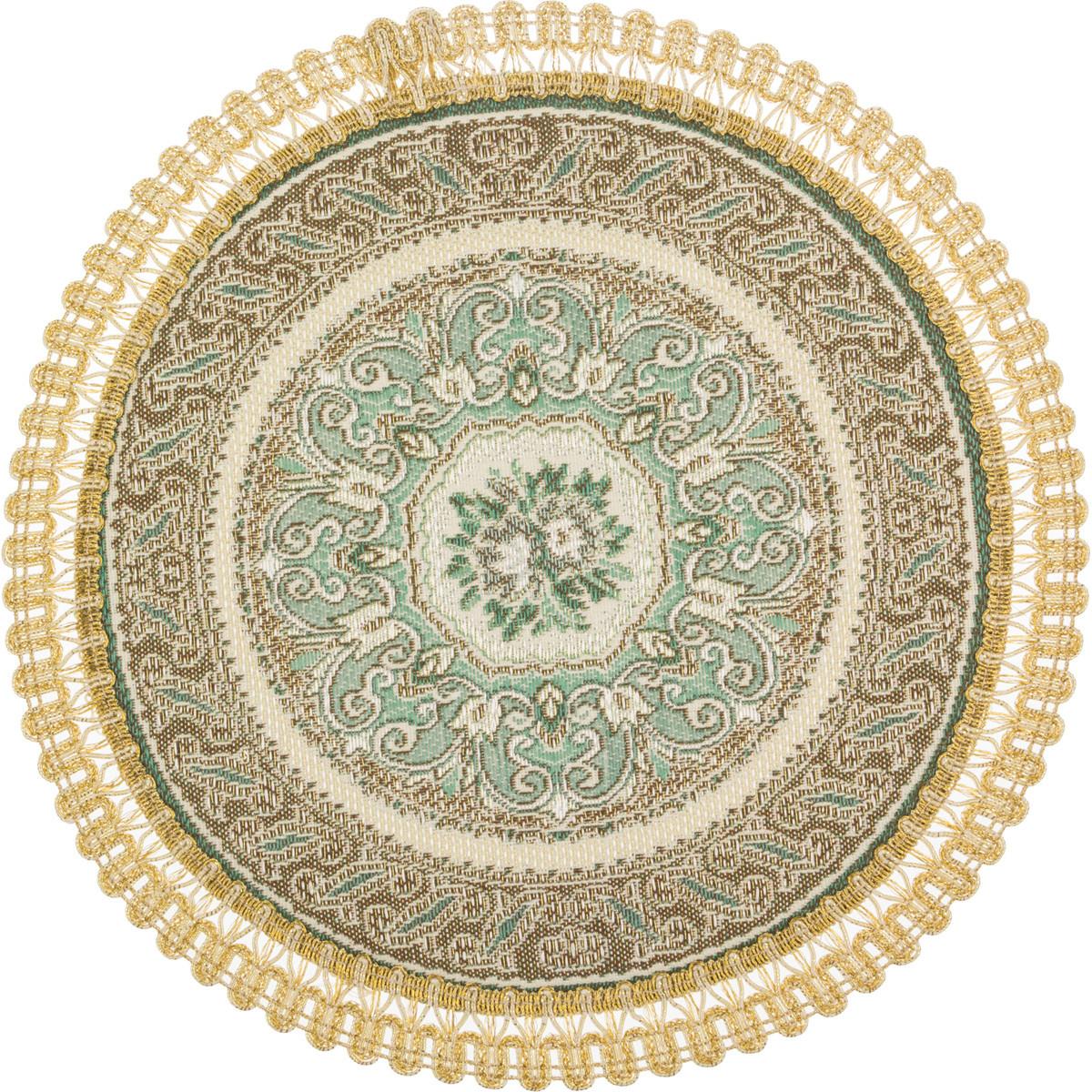 Скатерти и салфетки Lefard Салфетки Zoey  (круглая 24 см) цены онлайн
