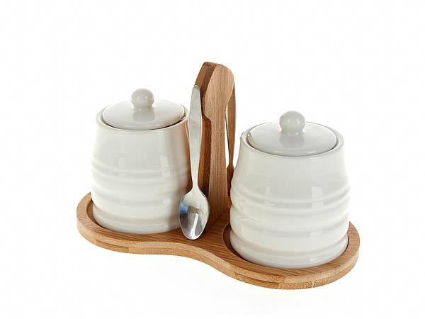 {} Best Home Porcelain Набор для специй Naturel (10х13х21 см) набор для специй magic home набор для специй