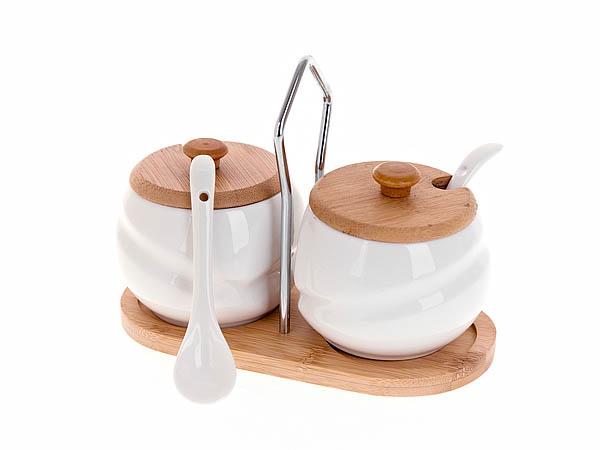 {} Best Home Porcelain Набор для специй Naturel (9х18х19 см) набор для специй magic home набор для специй