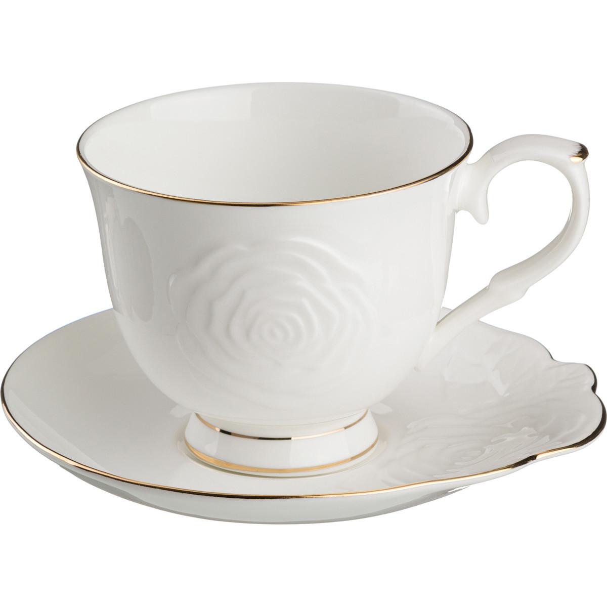 {} Lefard Чайная пара Blanco (450 мл) чайная пара с крышкой кобальтовая сетка форма подарочная 2 ифз