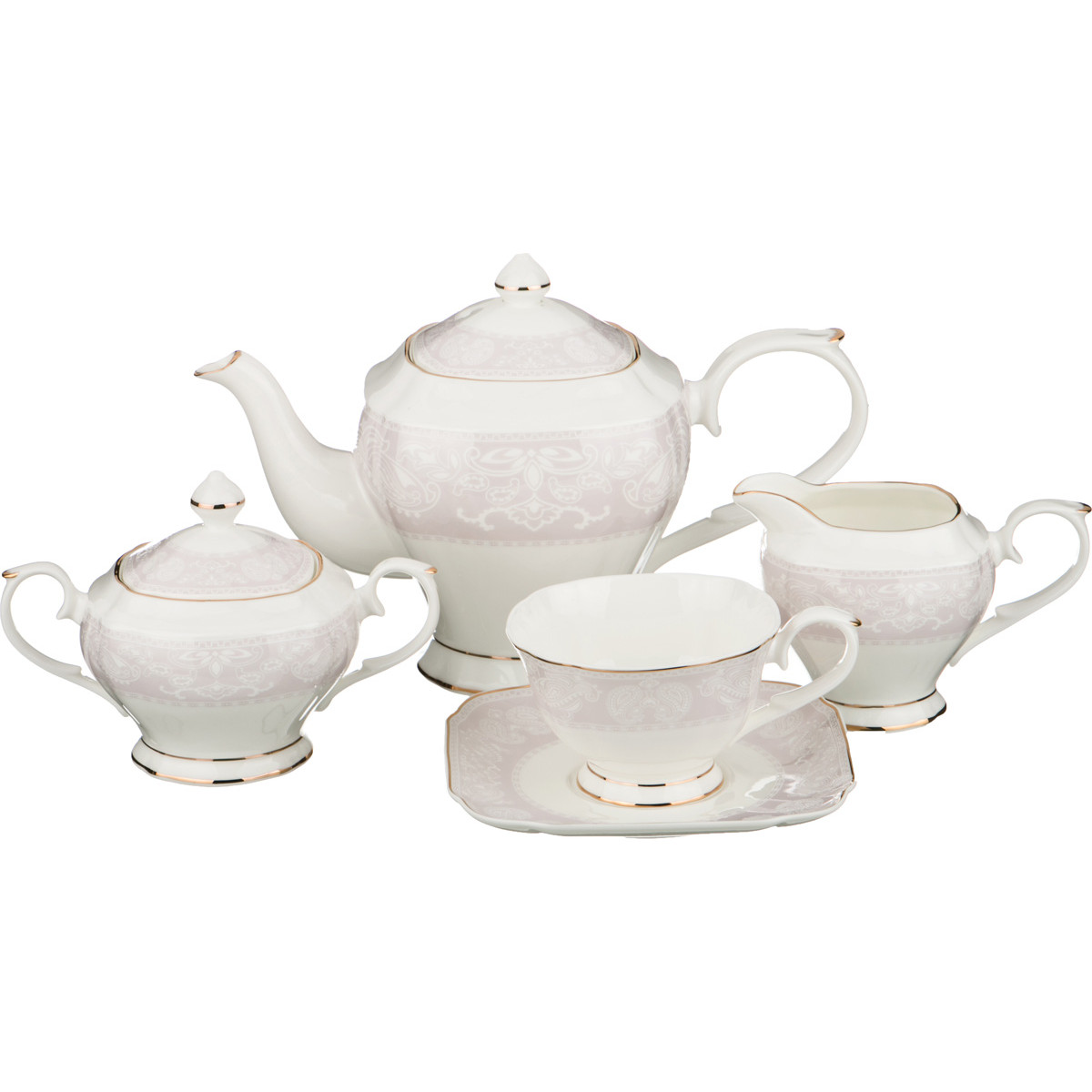 {} Lefard Чайный сервиз Cailyn (Набор) creative набор для творчества украшаем чайный сервиз