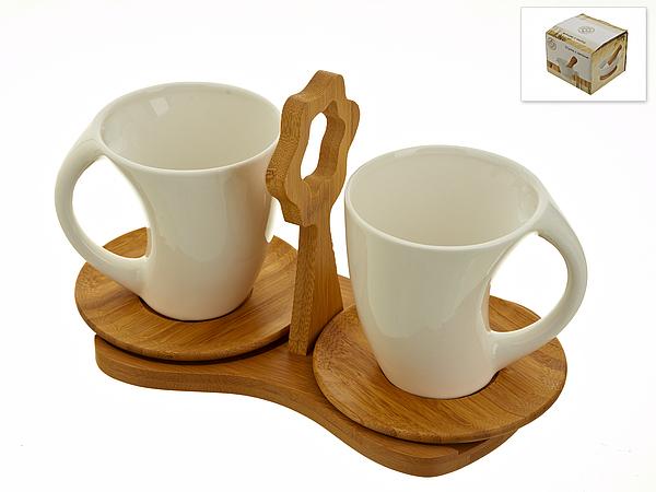 {} Best Home Porcelain Набор кружек Naturel (230 мл) набор кружек amber porcelain 220 мл 2 шт