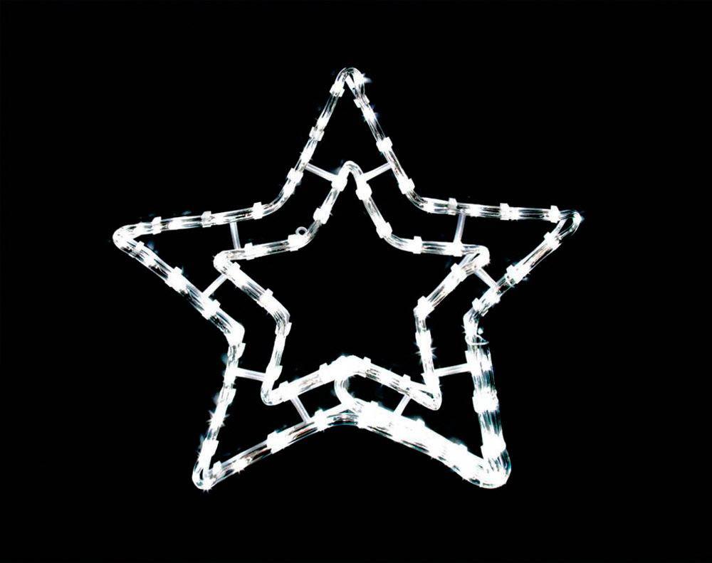 {}  Световая фигура Звезда (46х46 см) световая фигура снеговички 37х45 см