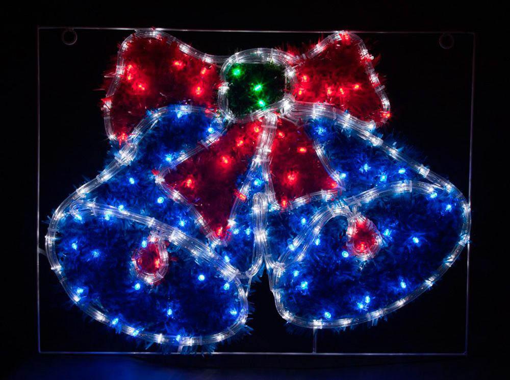 {}  Световая фигура Колокольчики С Мишурой (45х60 см) световая фигура снеговички 37х45 см