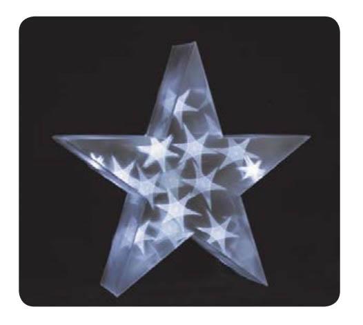 {}  Световая фигура Звезда Большая (35х35 см) световая фигура снеговички 37х45 см