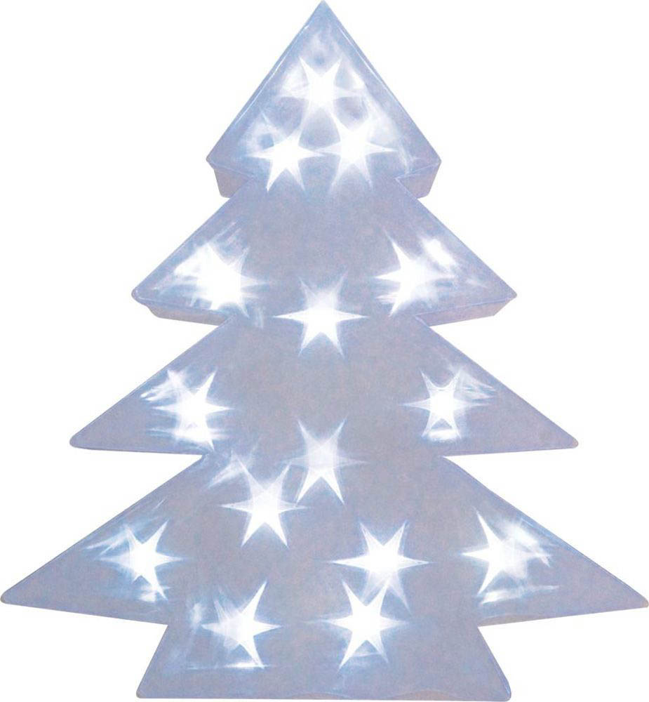 {}  Световая фигура Елка 3D (34х42 см) световая фигура снеговички 37х45 см