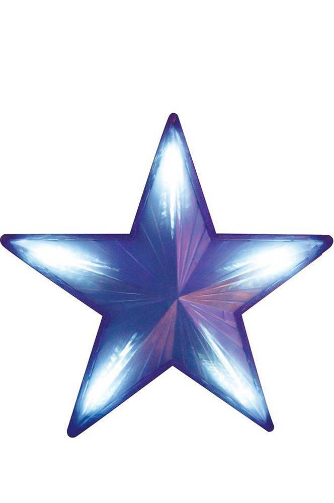{}  Световая фигура Nadia Цвет: Синий (51х51 см) световая фигура снеговички 37х45 см