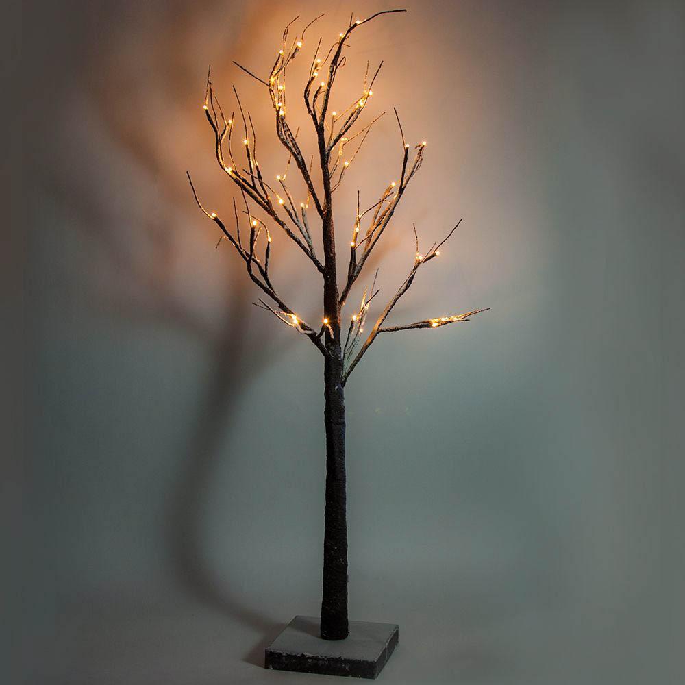{} Светодиодное дерево Gavin (120 см) светодиодное дерево neon night яблоня цвет красный теплый белый 150 см
