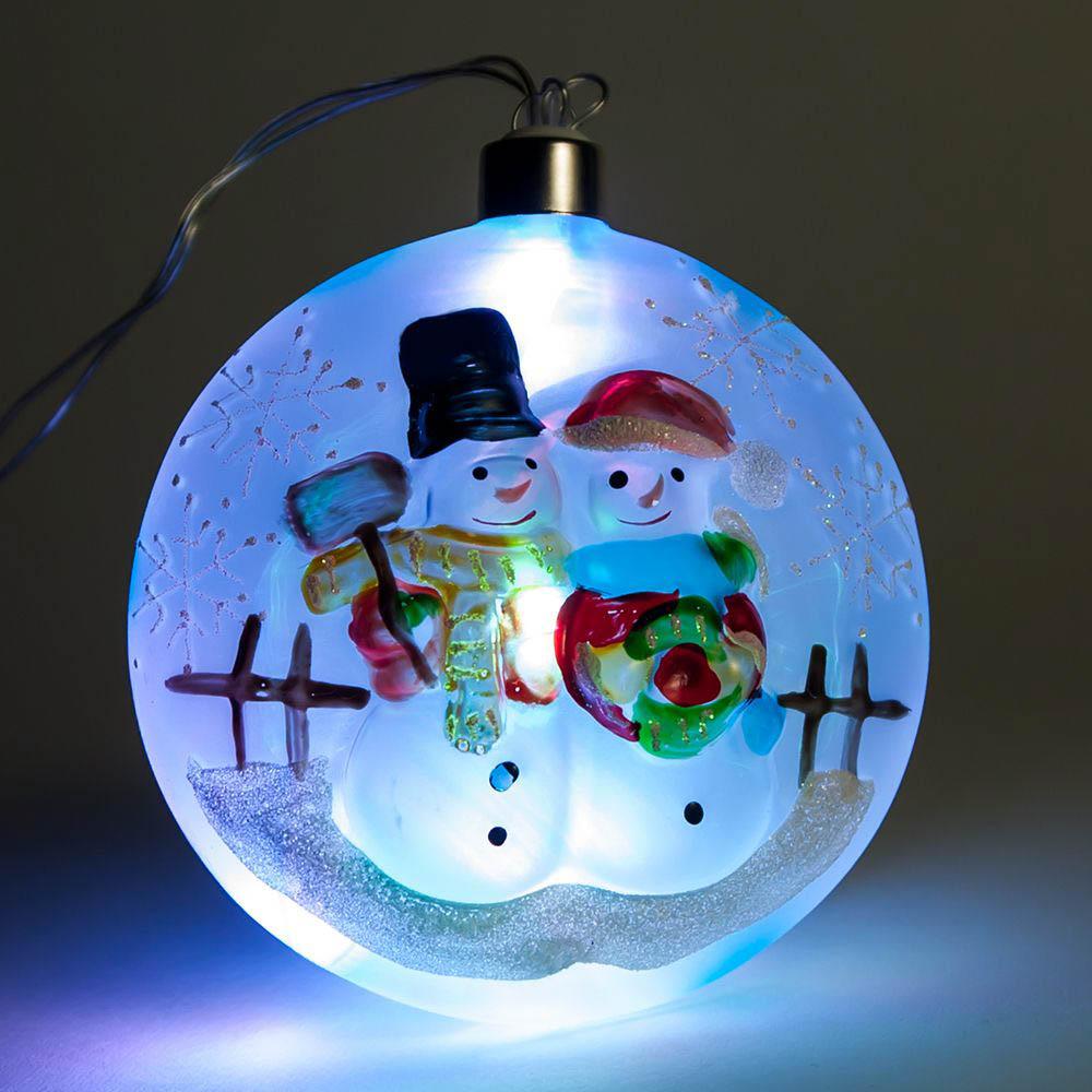 {}  Световая фигура Tracey (4х10 см) световая фигура снеговички 37х45 см