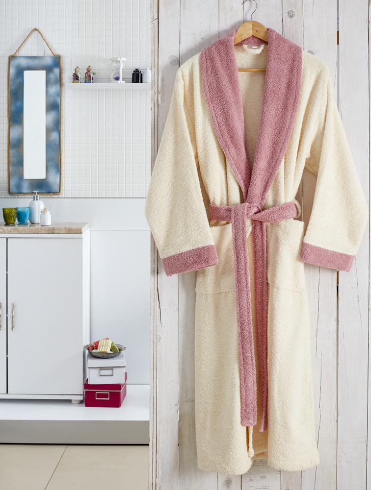 Сауны, бани и оборудование Karna Халат Adra Цвет: Кремовый (L-xL) сауны бани и оборудование tac халат hazel цвет кофейный l xl